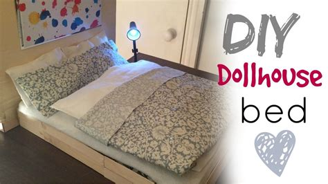 to bed diy craft doll bed