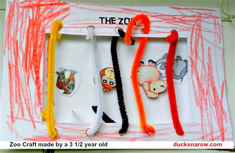 zoo crafts for z is for zoo preschool craft ducks n a row