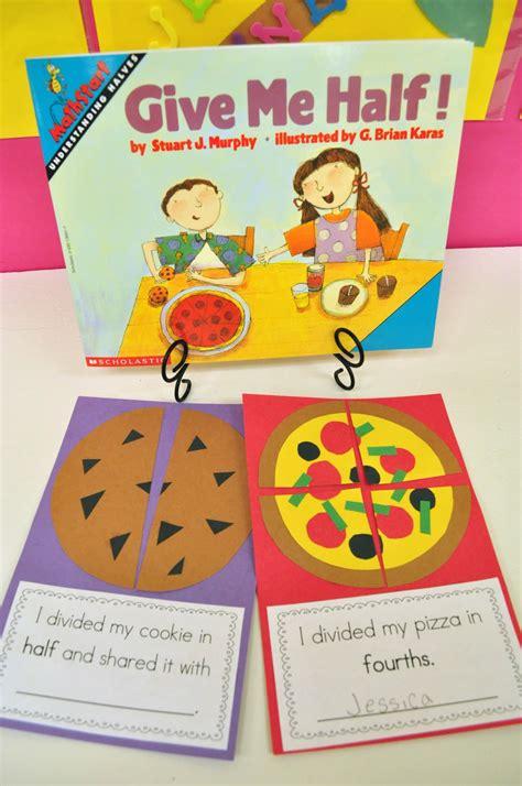 fraction picture books mrs ricca s kindergarten fractions freebie