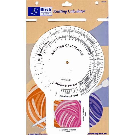 knitting calculator knitting accessories birch knitting calculator