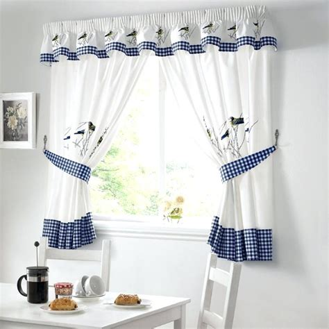 toile kitchen curtains blue toile kitchen curtains soozone
