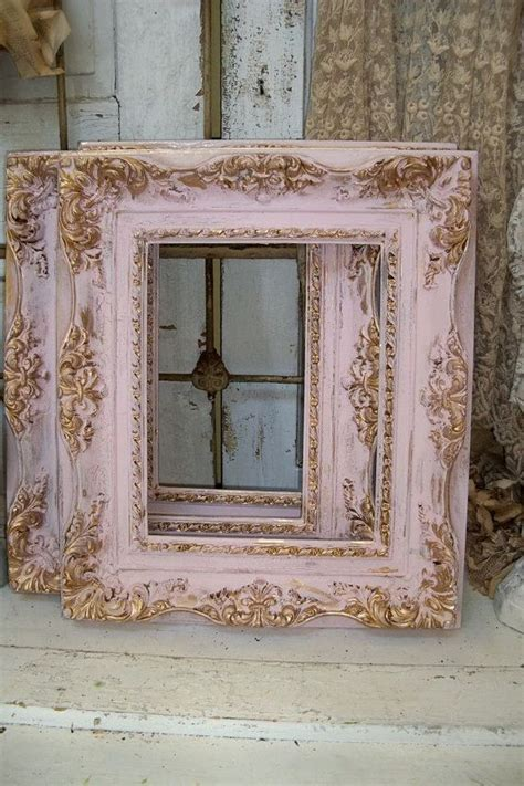 shabby chic picture frames diy 25 unique shabby chic frames ideas on shabby