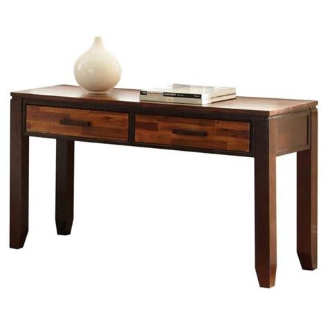 sofa table espresso steve silver company abaco sofa table in espresso ab600s