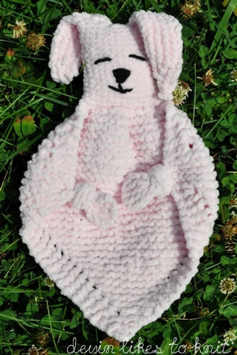bunny blanket buddy knit pattern demi knits brand yarn quot bunny blanket buddy quot knit