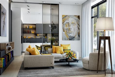 yellow living room 25 gorgeous yellow accent living rooms