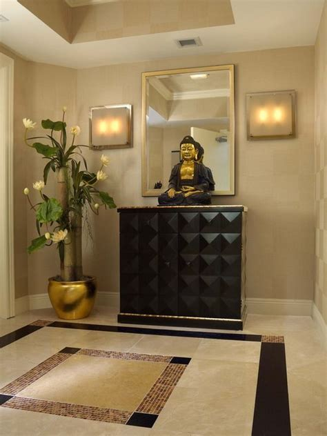 How To Decorate A White Bedroom decorate with buddha statues and representations