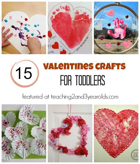 valentines craft projects toddler crafts
