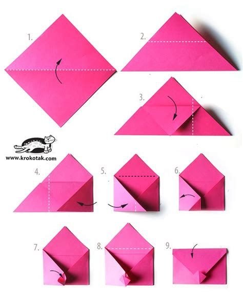 how to make a big origami best 25 origami envelope ideas on paper