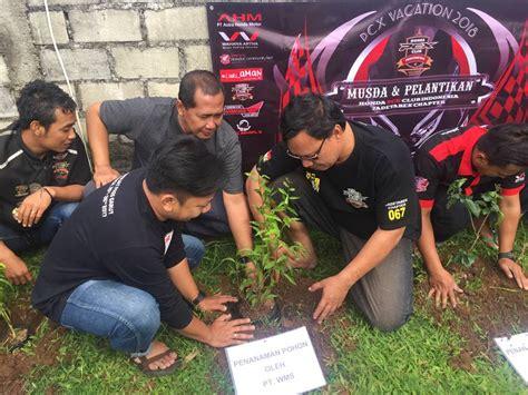 Pcx 2018 Depok by Honda Pcx Club Indonesia Touring Sekaligus Pilih Ketua