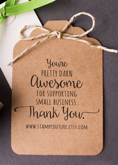 small rubber sts loyalty cards the 25 best business thank you cards ideas on