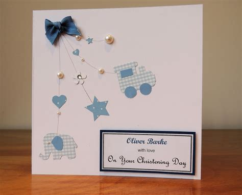 how to make a baptism card the card craft room christening card
