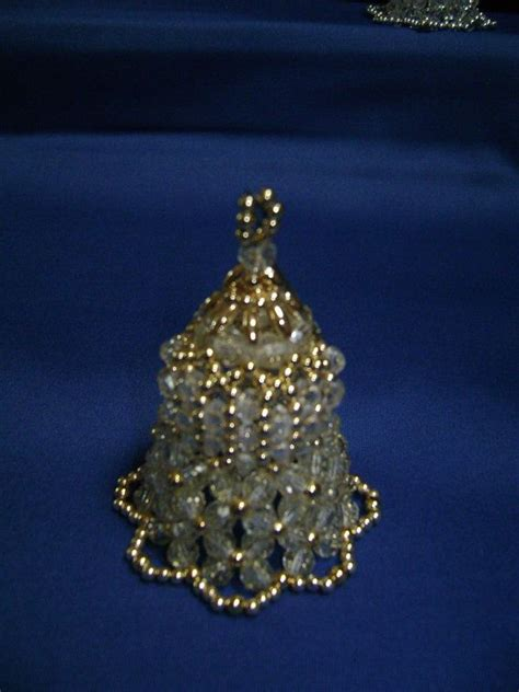 beaded bell ornament 17 best images about helmity 246 joulukello on