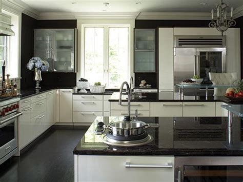 white kitchen cabinets black granite countertops granite countertops hgtv
