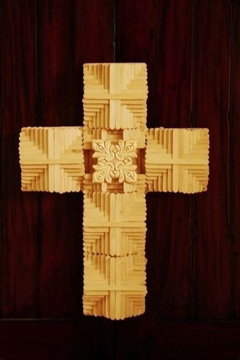 Popsicle Stick Cross 183 Extract From The Big Book Of