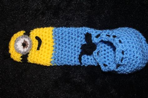 how to knit a willie warmer crochet willy warmer minion themed for