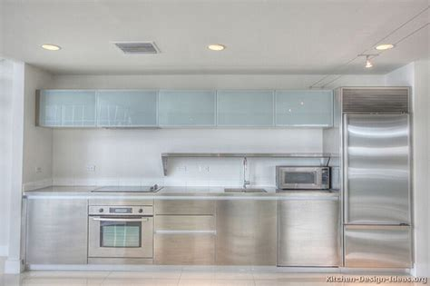 frosted glass kitchen cabinet doors kitchen cabinets modern stainless steel 002 s24533023