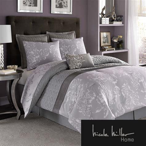 miller bedding sets miller floral 7 comforter set contemporary