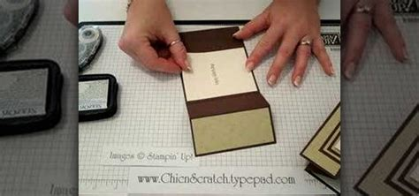 how to make a card out of paper how to make a tri fold card out of paper 171 papercraft
