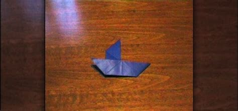 easy impressive origami how to fold a simple origami sailboat 171 origami