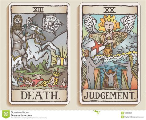 how to make tarot cards two tarot cards v 9 stock photography image 19064352