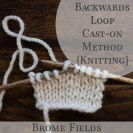 backward loop knitting day 100 horseshoe cable knit stitch