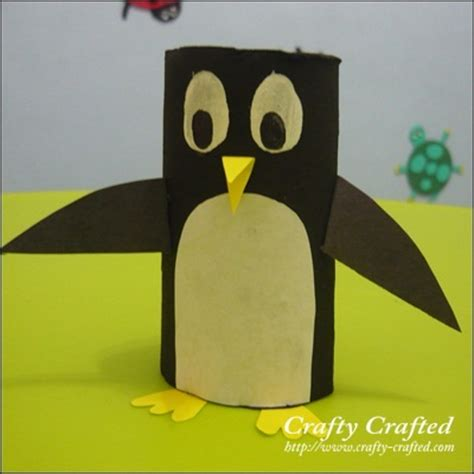 penguin toilet paper roll craft toilet paper roll crafts animals images