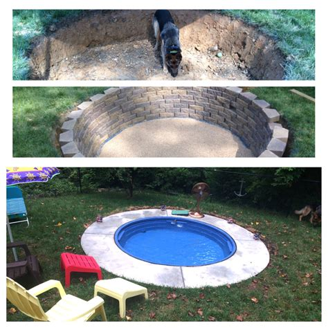 how to make a pool in your backyard mini pool build using a stock tank from tractor supply