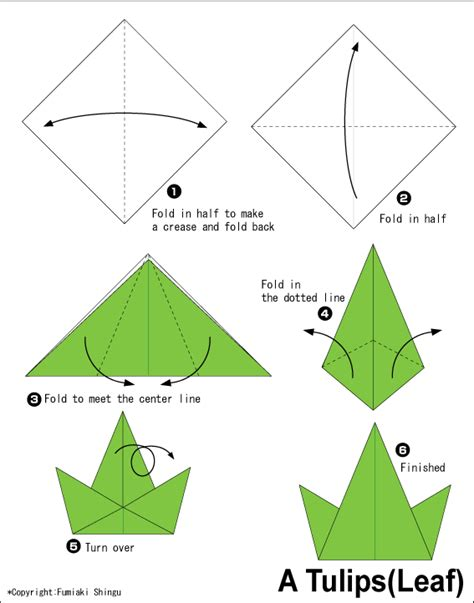 how to make easy origami flowers tulips2 easy origami for