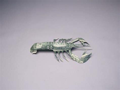 origami lobster money origami lobster money dollar origami