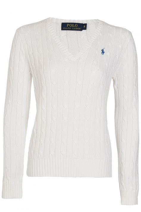 Ralph Ralph Polo Womens Kimblerly Cable Knit
