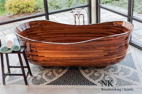 woodworking seattle 17 best images about wood bathtubs on soaking