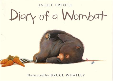 wombat picture book diary of a wombat stevereads