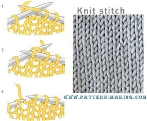 knit vs purl purl stitch and knit stitch pattern