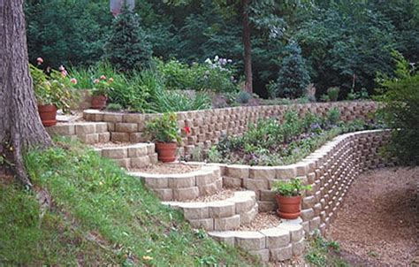 retaining walls for gardens tate builders supply energy solutions