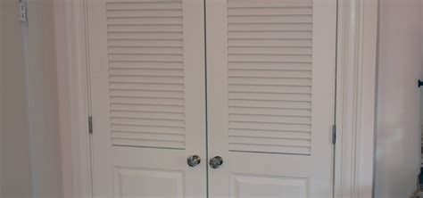 vented closet doors louvered doors