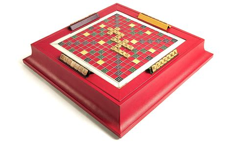 scrabble set scrabble set in leather cherry zontik