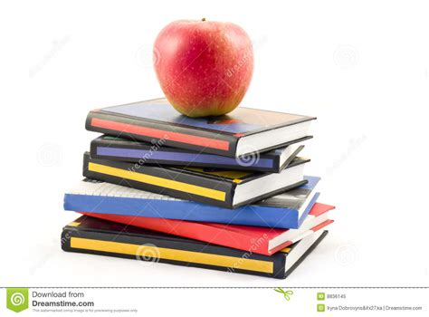 apple picture books books and apple royalty free stock photo image 8836145