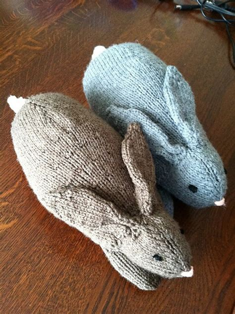free knitting patterns for rabbits easter henry s knit rabbits stylesidea