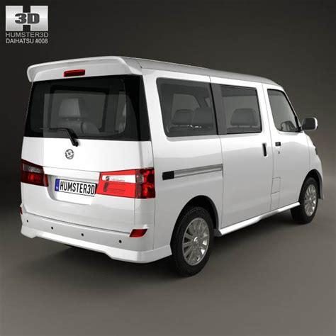 Daihatsu Luxio by Daihatsu Luxio 2013 3d Model Humster3d