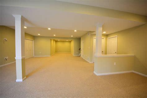 Open Concept Home Decorating Ideas basement half walls and design columns ideas basement masters
