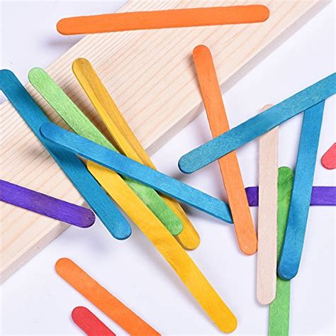 wooden craft sticks projects from usa outus wood craft stick colorful wooden