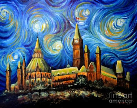 paint nite in ottawa ottawa starry painting by arash kameli