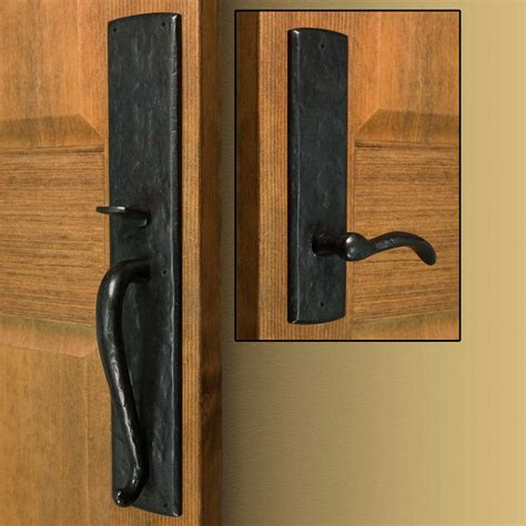 front entrance door handles bullock solid bronze entrance set with lever handle door