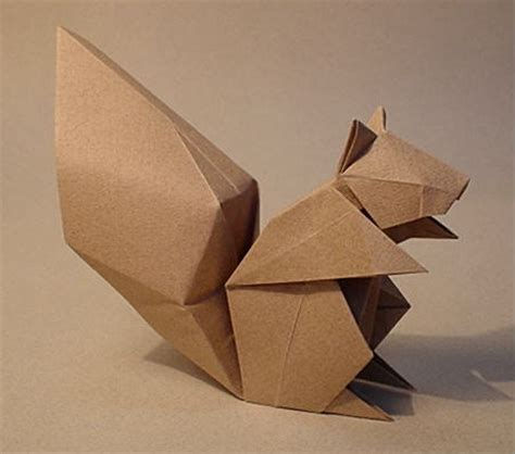 3d origami squirrel the origami forum view topic komatsu s squirrel