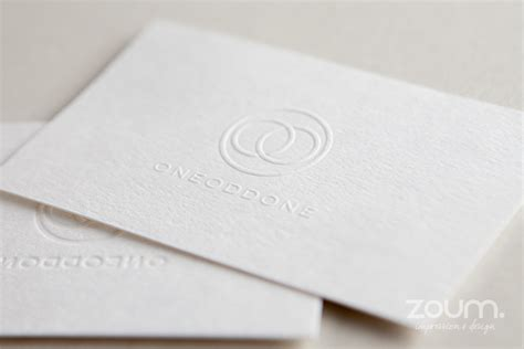 card embossing embossed business cards zoum embossing