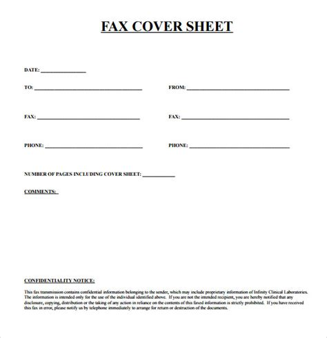 letter cover sheet basic fax cover sheet 7 download documents in pdf