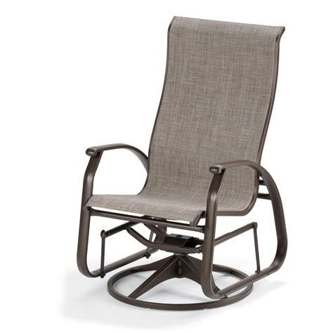 patio glider chairs telescope casual cape may sling patio supreme swivel