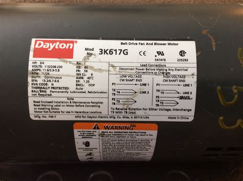 Dayton Electric Motors by 1 2 Hp Electric Motor Wiring Diagram Used 2 Hp Electric
