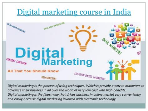 course in india digital marketing course in india
