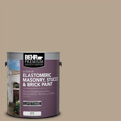 behr paint colors khaki behr premium 1 gal pfc 33 washed khaki elastomeric
